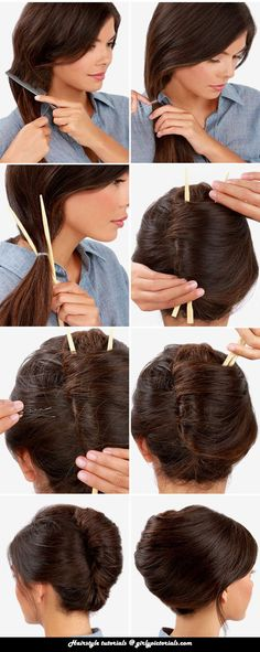 As we all know, the French women have their own way to look beautiful & this Fabulous French Twist Updo is one of their best hairstyle ideas. Try this hairstyle to look beautiful & mod. More @ http://girlypictorials.com/