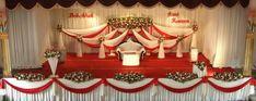 Stage Decoration   Kerala wedding stage decoration (6)