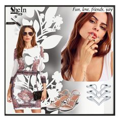 """""""Shein #5"""" by begicdamir ❤ liked on Polyvore featuring By Lassen, Élitis, Bobbi Brown Cosmetics and vintage"""