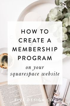 How to create a membership program on your Squarespace website // A step-by-step guide to create membership-protected content (free or paid) on your Squarespace website Web Design Tutorial, Web Design Tips, Blog Design, Business Design, Creative Business, Business Tips, Online Business, Business Website, Business School