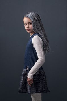 Beautiful Nora dress in soft lambswool by MOLE - Little Norway AW15.