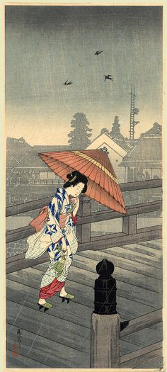 JAPAN PRINT GALLERY: Sudden Rain