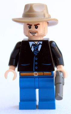 LEGO!!! Raylan Givens - Justified I must have this.