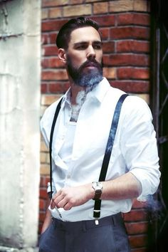 I like the suspenders.