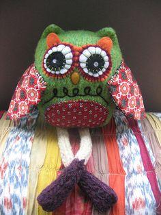 Heart Felt Owl