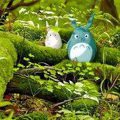My Neighbor Totoro by Erik Krenz, via Behance