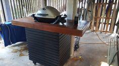 Weber Baby Q custom built stand   BBQ   Gumtree Australia Brisbane North West - Mitchelton   1143868527