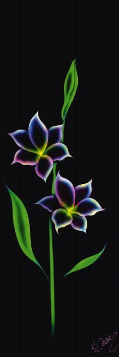 Walter Zettl: Blütenzauber - Leinwandbild auf Keilrahmen Leinwandbilder