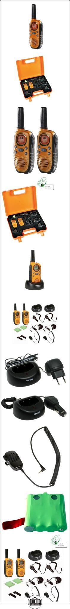 Topcom Twintalker 9100 Long Range - Walkie-talkie  ✿ Vigilabebés - Seguridad ✿ ▬► Ver oferta: http://comprar.io/goto/B000K6AWT8