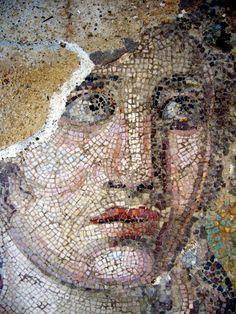 Mosaico. Dionisio. II secolo. Museo archeologico, isola Delo (Cicladi), Grecia. Casa di Dionisio