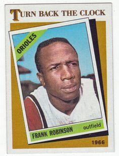 Frank Robinson # 404 - 1986 Topps Baseball