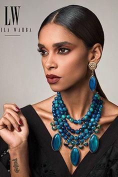 """"""""""" Laila Wahba: An Egyptian Jewelry Designer Who Creates Pieces for Daring Women """""""" Laila Wahba Jewlery """""""" Statement Jewelry, Pearl Jewelry, Jewelry Art, Beaded Jewelry, Jewelry Accessories, Jewelry Necklaces, Fashion Jewelry, Crystal Jewelry, Silver Jewelry"""