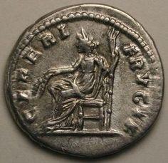 JULIA DOMNA, DENAR, SILVER, CERES, CORN-EARS, TORCH, MINTED ROME, 196-211 A.D.