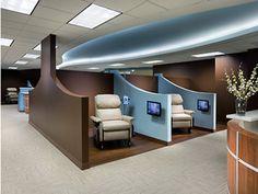 Cancer Center - treatment area
