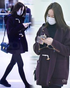 """ 160101 arrived Gimpo Airport pics from ""noviewistrue"" #정수정 #jungsoojung…"