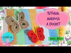 (393) Mariposa a crochet. Para principiantes - YouTube