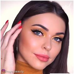 Cute Eye Makeup, Perfect Makeup, Face Makeup, Makeup Tutorial Eyeliner, Makeup Looks Tutorial, Eyeshadow Guide, Eyeshadow Makeup, Makeup Tips, Beauty Makeup