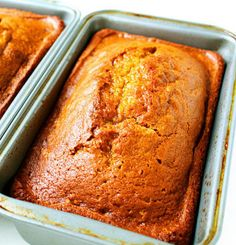 Recipe for Classic Pumpkin Bread - I'm obsessed with this stuff. Love baking it. Love gifting it to friends. Love how perfect it is for breakfast, lunch, dinner!