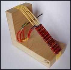 simple loom for weaving