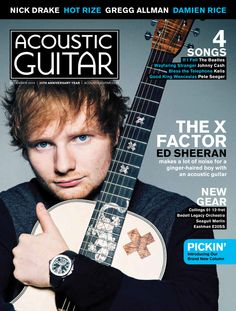 Ed Sheeran has taken the acoustic guitar to places it hasn't seen since the rise of the Everlys Acoustic Guitar Magazine, Acoustic Guitar Cake, Guitar Art, Guitar Songs, Ukulele, Nick Drake, Pete Seeger, Guitar Youtube, Best Guitar Players