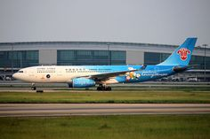 B-6057 | China Southern Airlines | Airbus A330-243 | ZGGG