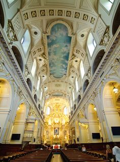 Notre-Dame de Québec Cathedral, Place Royale, Quebec, Canada. Photo: Bruce Irschick via Flickr