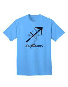TooLoud Sagittarius Symbol Adult T-Shirt