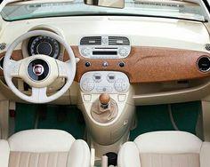 Fiat Cinquecento, Fiat 500c, My Dream Car, Dream Cars, Fiat 500 Interior, Fiat 500 Cabrio, Fiat 500 Sport, Fiat 500 Lounge, Nissan Figaro