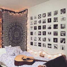 love tapestries and Polaroids