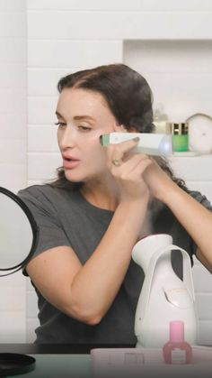 """Sephora on Instagram: """"Even if you don't have clogged pores, this one is worth the watch. Sephora Beauty Director @ladyymelinda takes us through her deep-…"""" Hair Essentials, Clogged Pores, Skin Food, Sephora, Clogs, Hair Care, Hair Beauty, Make Up, Deep"""