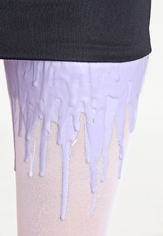 Melting ice pantyhose