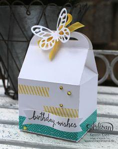 Stampin´ Up! Artisan DesignTeam BlogHop 11.06.2015 - Geburtstags Verpackungen Thinlits Tortenstück und Leckereien-Box mit Washi-Tape Detailbild4