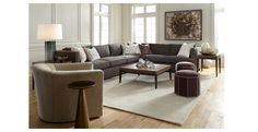 Mitchell Gold Sectional Sofa