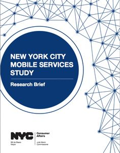 NYC Department of Consumer Affairs Releases First Municipal Study on Mobile Technology and Money Management: New Yorkers Have High Mobile Phone Ownership and Mobile Banking Usage | 3BL Media