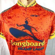 8b7c24f0c Kona Brewing Co Longboard Lager Canari M Cycling Jersey Medium Mens 1 2 Zip  Bike