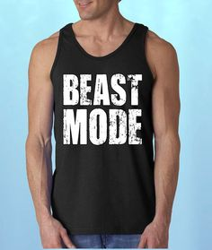 e0515b3c965f2 Beast Mode MeN s TaNKToP Gym clothing Cool gym by Amazingitems4u