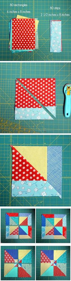 Summer Slice Quilt Blocks, Best Picture For patchwork quilting hexagon For Your Taste You are looking for something, and it is going to tell you exactly what you are look Baby Patchwork Quilt, Patchwork Patterns, Rag Quilt, Quilt Block Patterns, Quilt Blocks, Sewing Patterns, Quilt Baby, Quilting For Beginners, Quilting Tips