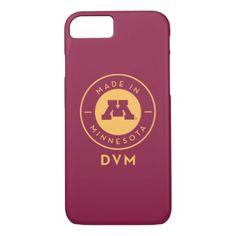 #gold - #College Of Veterinary Medicine | Gold DVM Logo iPhone 7 Case