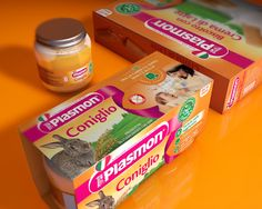 Plasmon Main Line on Packaging of the World - Creative Package Design Gallery