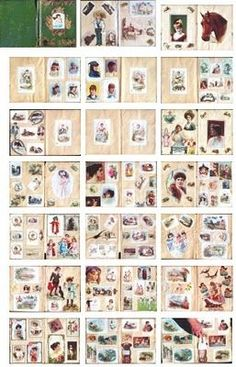 Image result for printables miniatures books