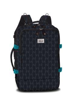 Stylový vzorkovaný batoh vhodný i jako palubní zavazadlo Notebook, Backpacks, Bags, Fashion, Handbags, Moda, Fashion Styles, Backpack, Fashion Illustrations