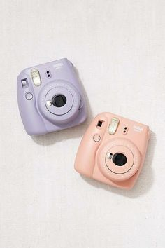 Slide View: 1: Fujifilm X UO Instax Mini 9 Instant Camera (in pink or mint or white)