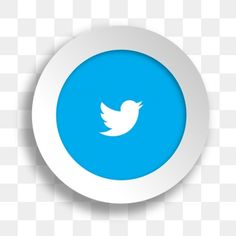 Social media twitter button PNG and Vector