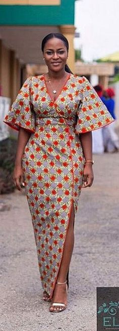 Latest African Fashion Dresses, African Dresses For Women, African Print Fashion, African Attire, Fashion Prints, Nigerian Fashion, African Prints, Ghanaian Fashion, African Women