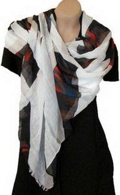 Silk Road Cashmere/Modal Fashion Oblong Scarf