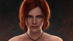 Video Game The Witcher 3 Wild Hunt The Witcher Redhead Face Green Eyes Girl Triss Merigold HD Wallpaper Background Image - Wallpaper Cart The Witcher 3, The Witcher Wild Hunt, Witcher Art, Triss Merigold Witcher 3, Ciri, Background Images Wallpapers, Hd Wallpaper, Original Wallpaper, Desktop Wallpapers