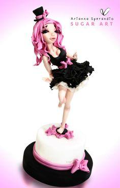Ballerina Pink - Arianna Sperandio Sugar Art