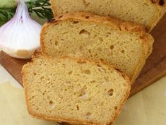 Easy Coconut Bread Recipe (Low Carb & High Protein) Protein Treats by Nutracelle. Protein Treats has done it again. We're so excited to present this super y Quick Banana Bread, Banana Bread Recipes, Banana Bread Recipe With Pancake Mix, Coconut Bread Recipe, Paleo Bread, Coconut Flour, Almond Flour, Pan Sin Gluten, Dinner Bread