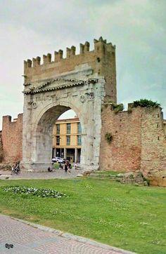 Arch of Augustus, Rimini, Italy