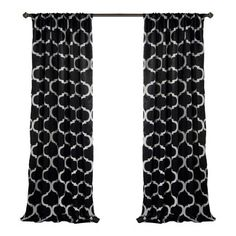 Geo Blackout Curtain Panel